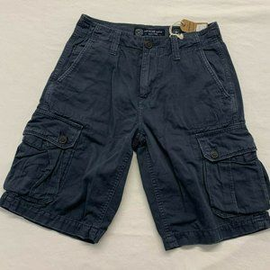 American Eagle Men's Cargo Shorts Size 26 Blue